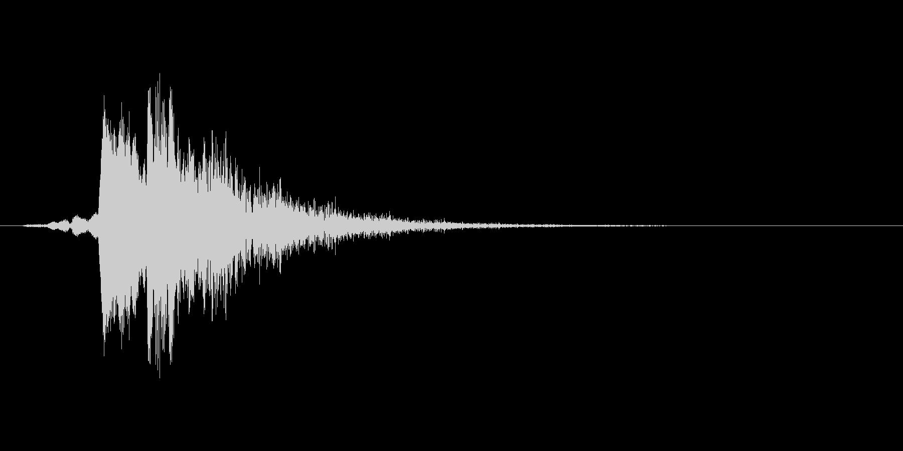 ピロリッ(回復、アイテム使用、低め)の未再生の波形