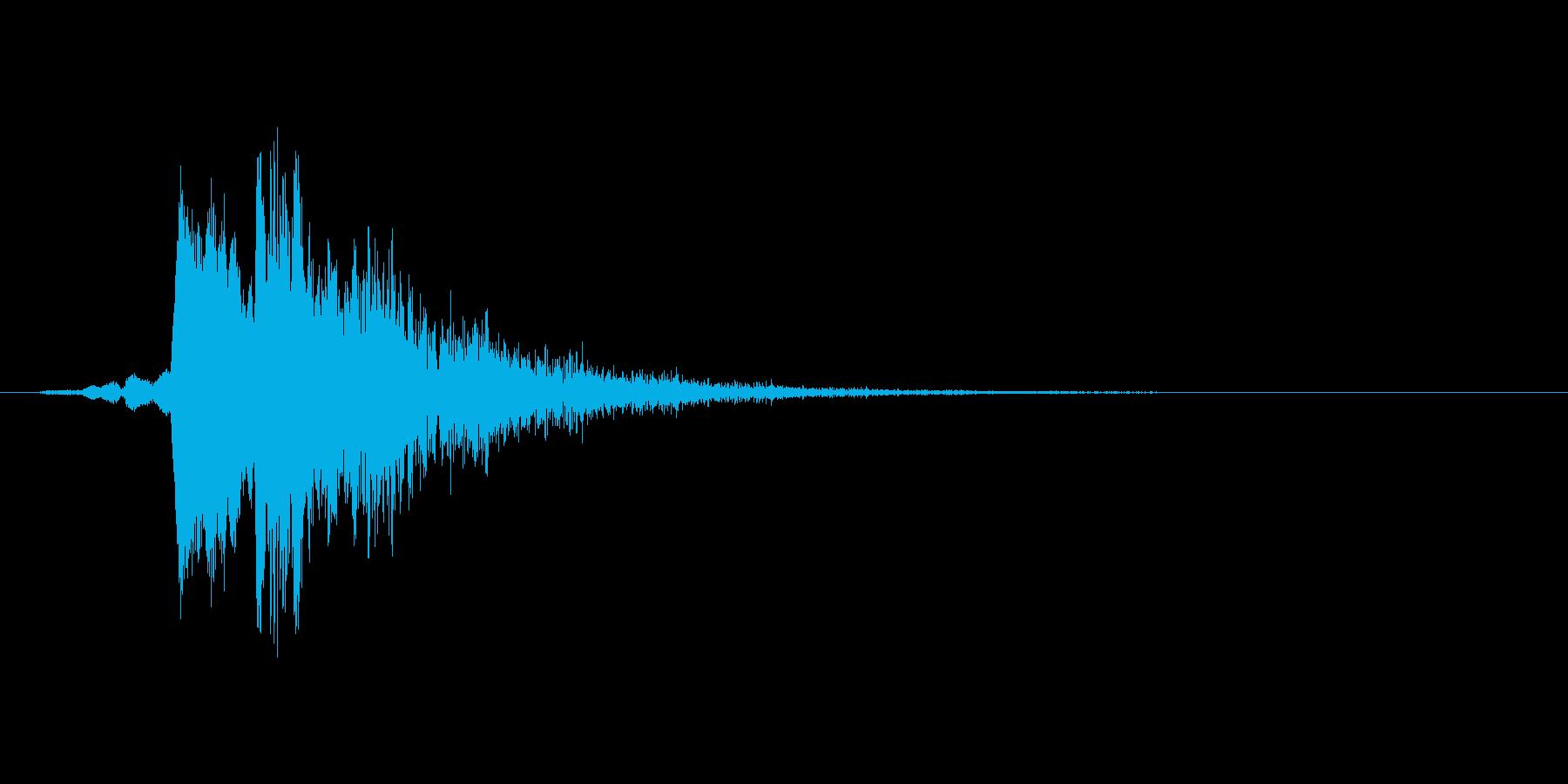 ピロリッ(回復、アイテム使用、低め)の再生済みの波形
