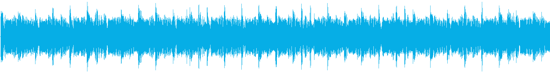 エレクトロなイメージをした楽曲です。の再生済みの波形