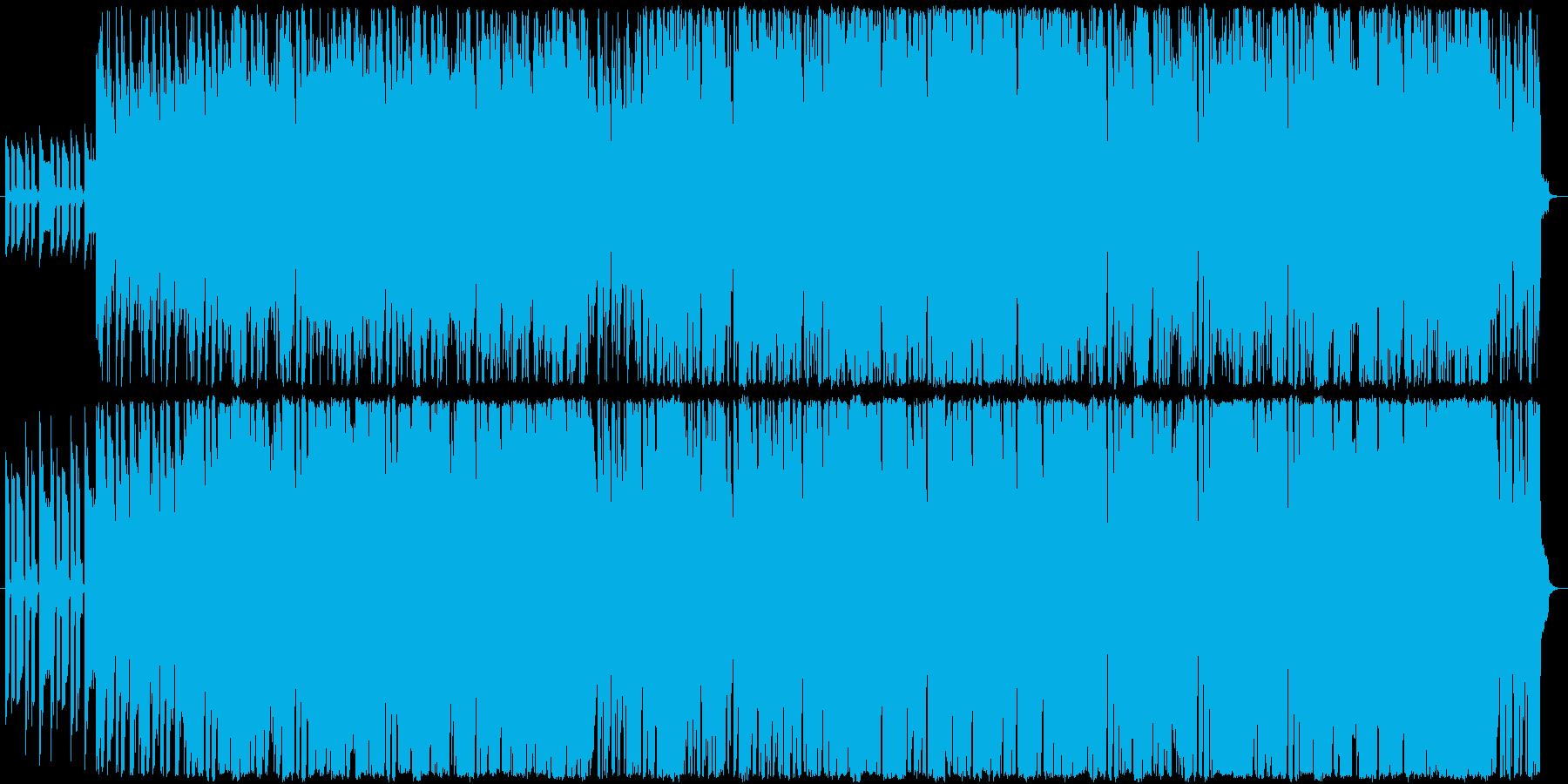 南国っぽい爽やかなラテン音楽の再生済みの波形