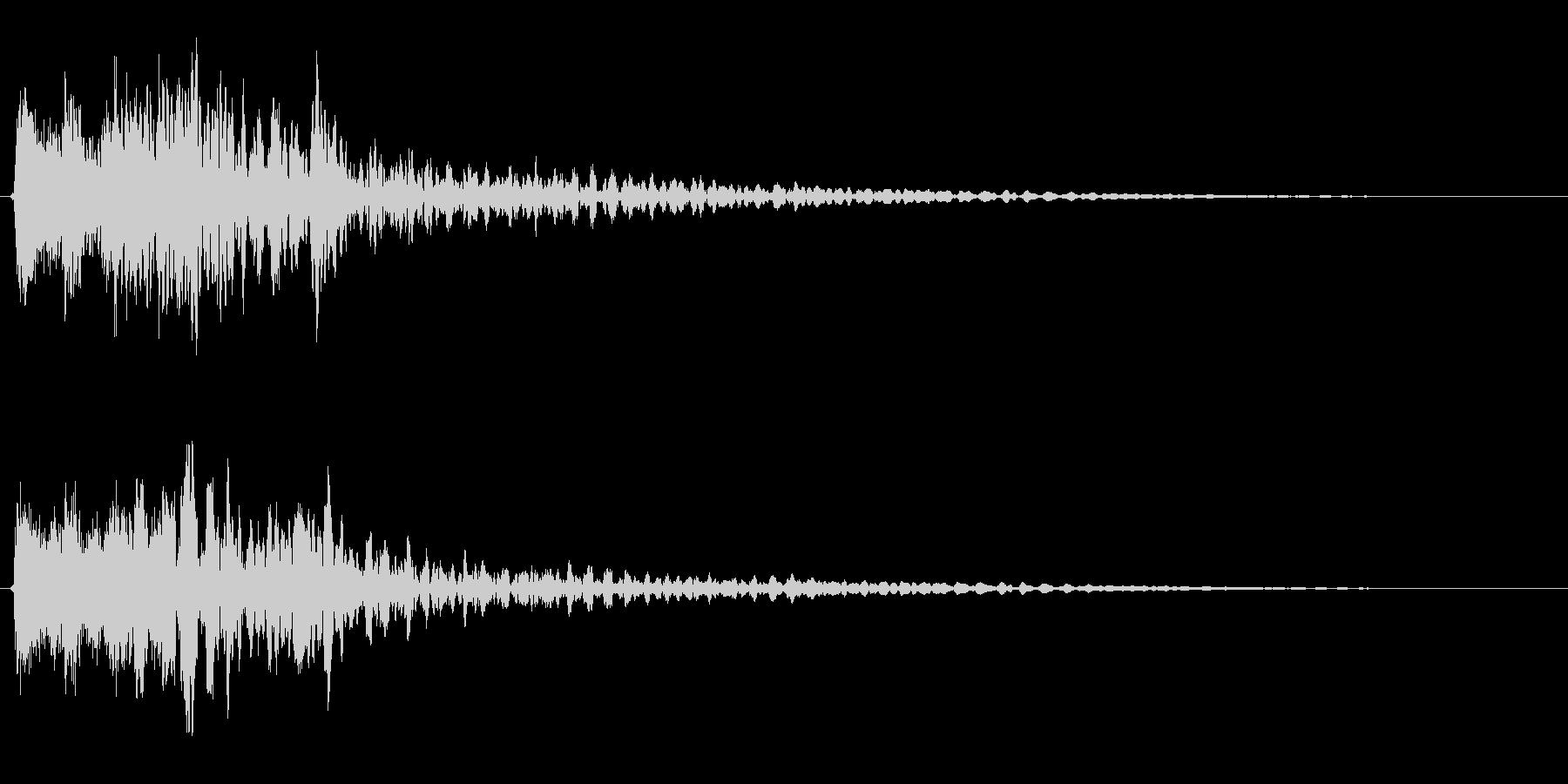 サスペンスに最適!ピアノの弦を弄ぶ音52の未再生の波形
