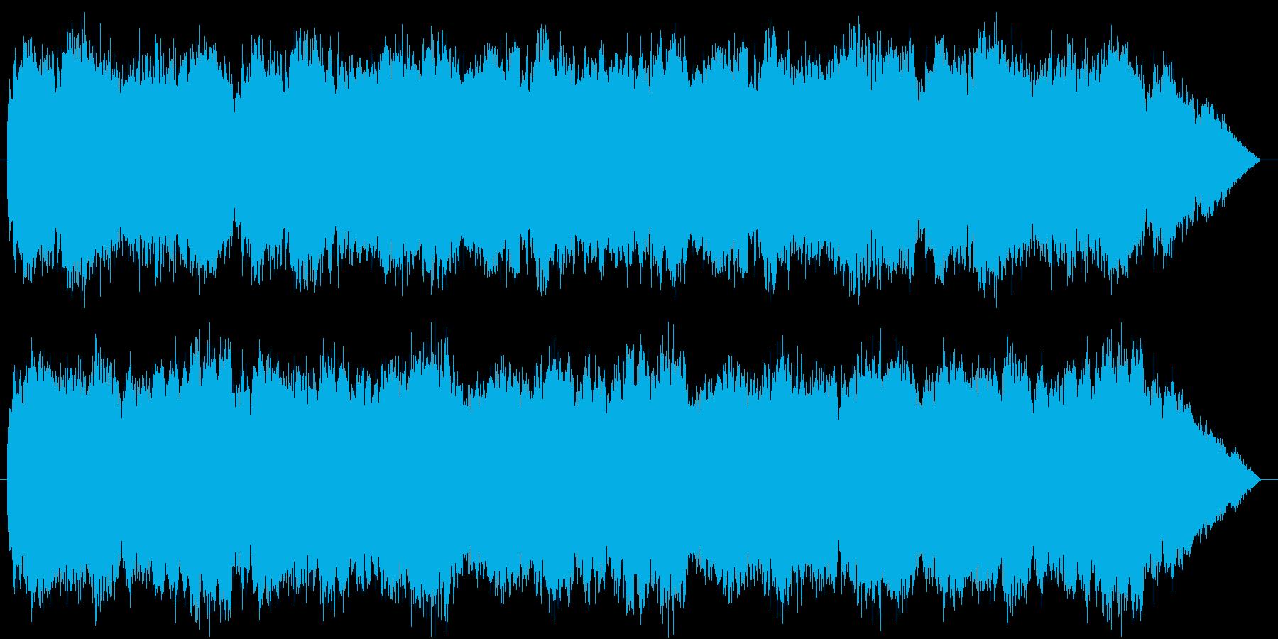 木管と弦主体ののどかな村のイメージの再生済みの波形