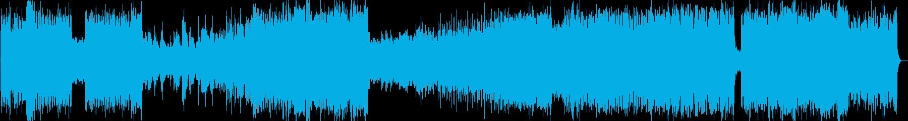 アニソン、ゲーソンのようなかっこいい歌物の再生済みの波形
