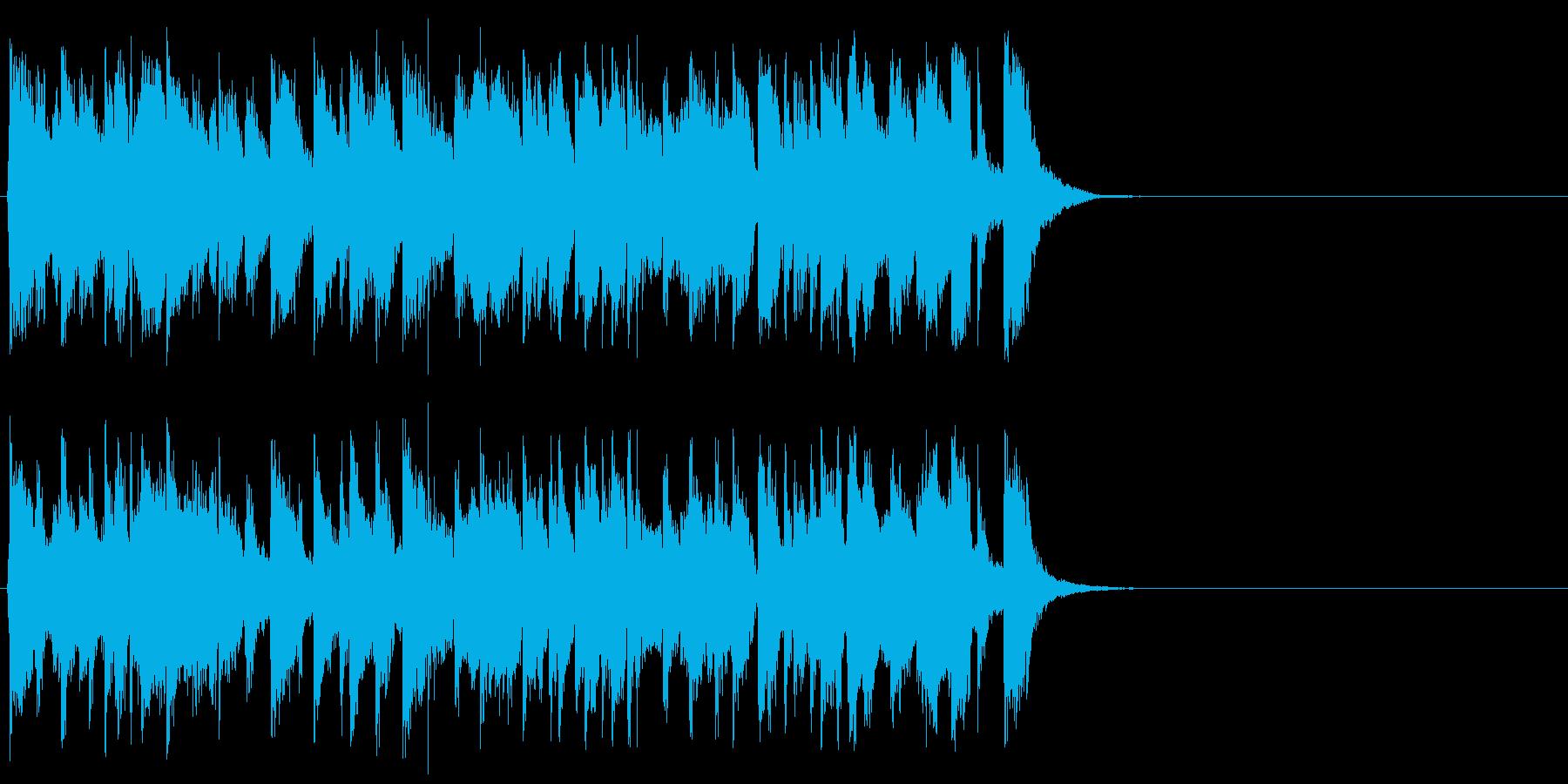 悪さする様なポップ(Aメロ)の再生済みの波形