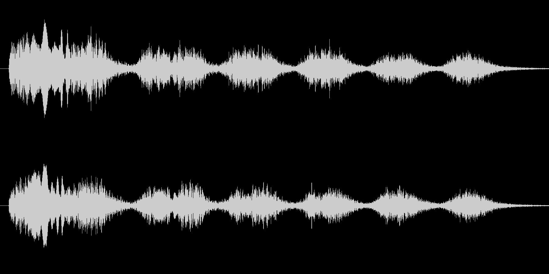 恐怖シリーズ20.怖い鳥の声(ノーマル)の未再生の波形