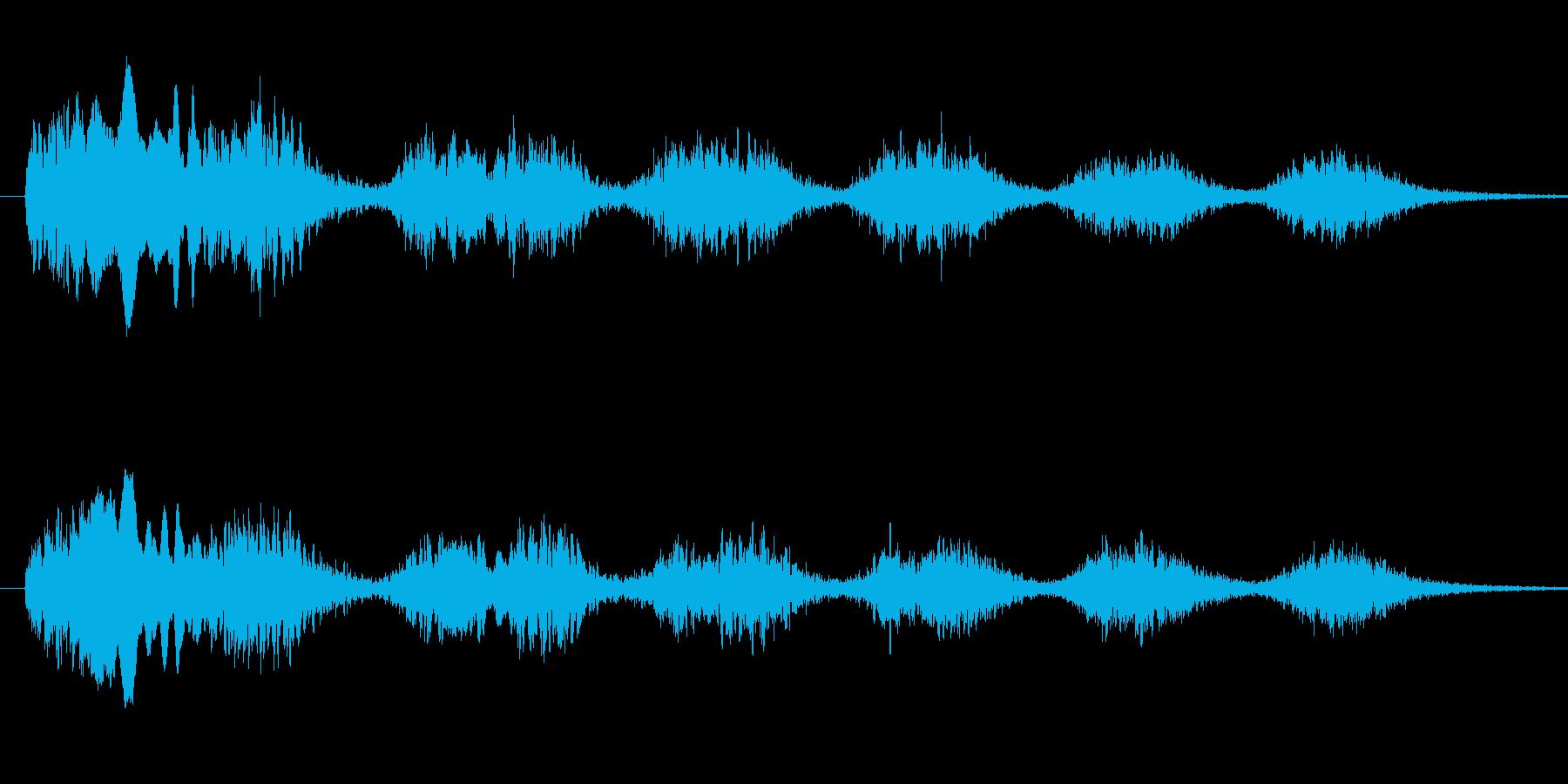 恐怖シリーズ20.怖い鳥の声(ノーマル)の再生済みの波形