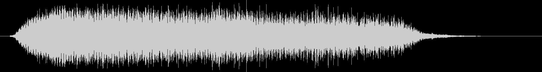 ピューン(コミカルに落下する音)の未再生の波形