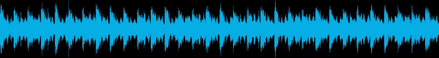 クールテクノの再生済みの波形