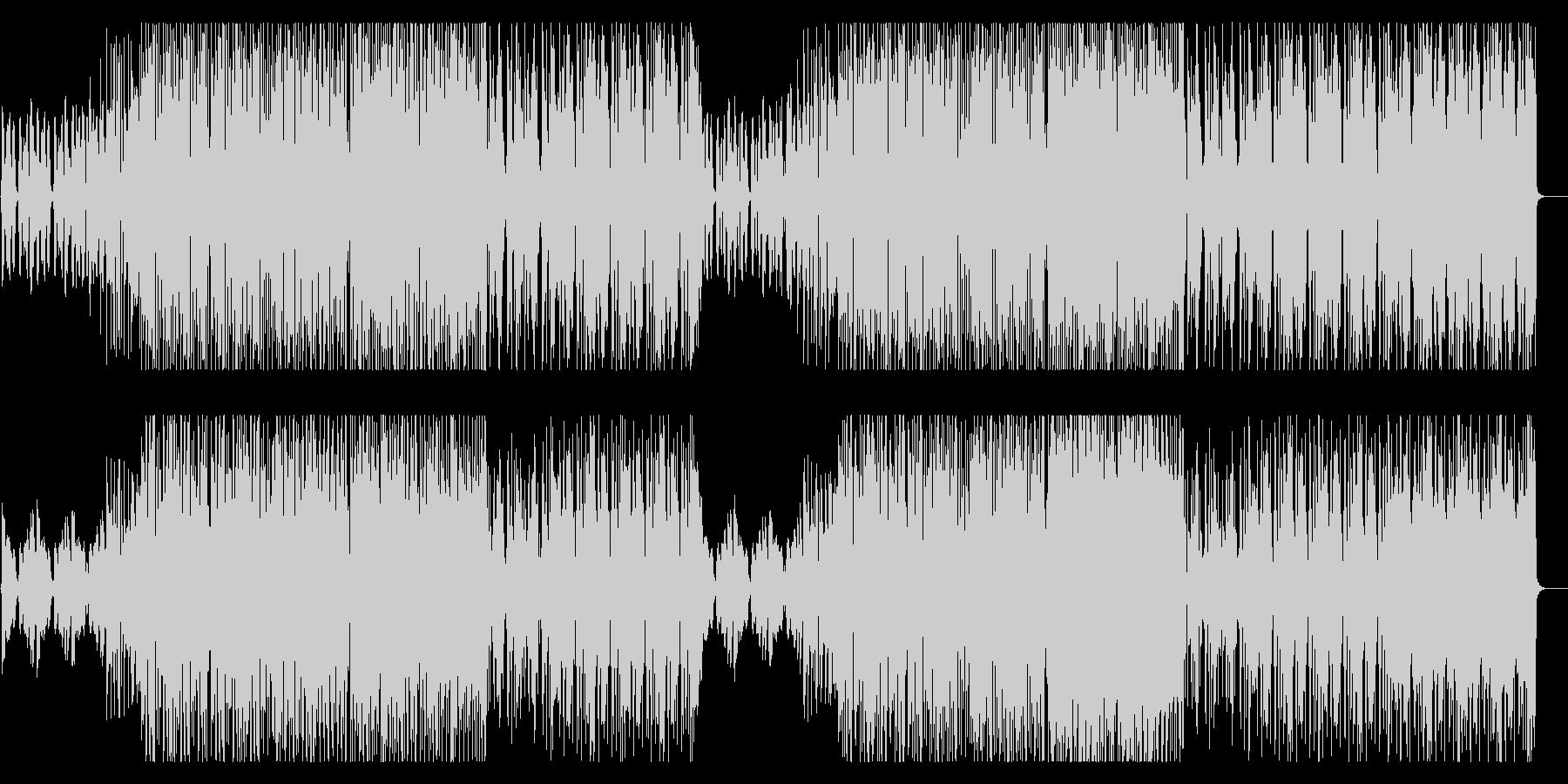 ポップでファンシーなシンセサウンドの未再生の波形