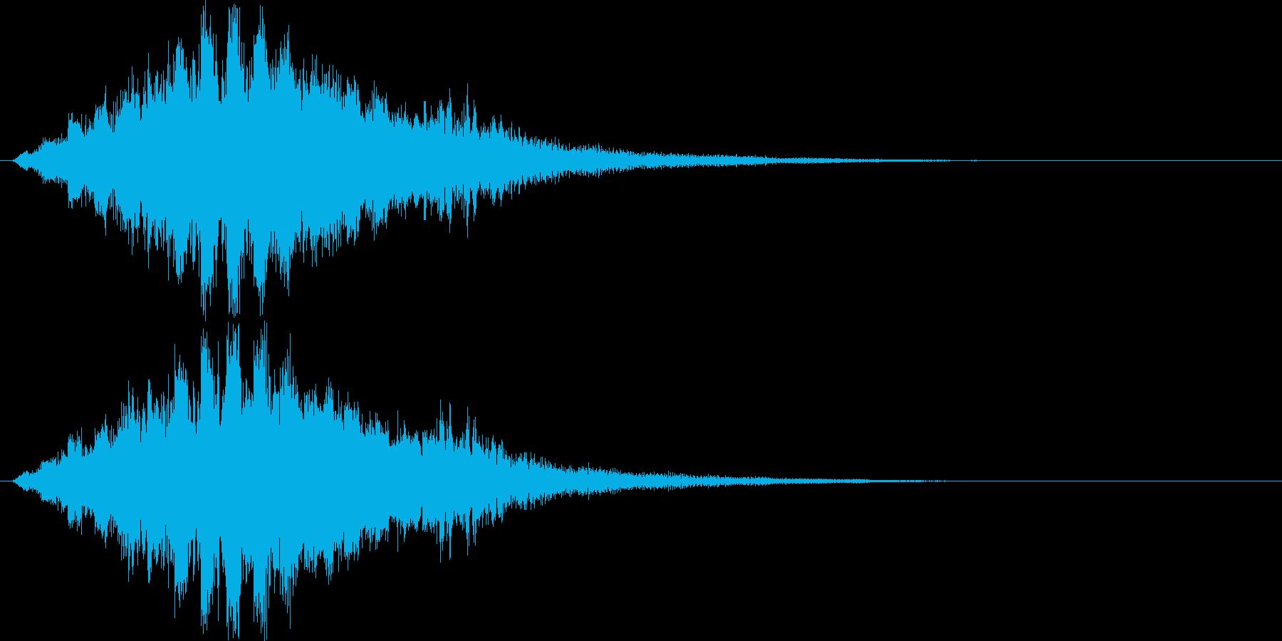 ティロロロロロ↑(場面転換、解放、星)の再生済みの波形