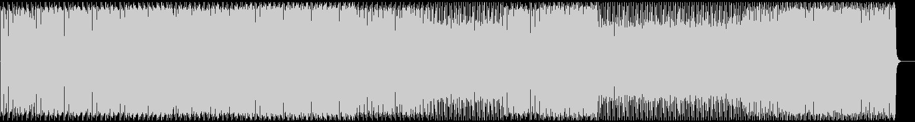 タイトなドラム&シンプルなリフ ハウスの未再生の波形