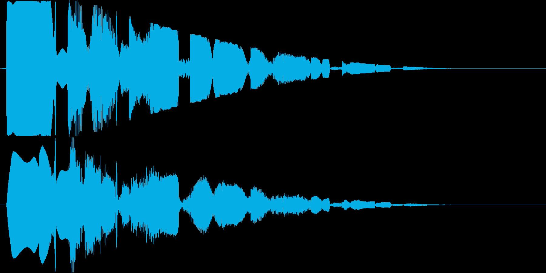 ピコピコ(空間系)の再生済みの波形