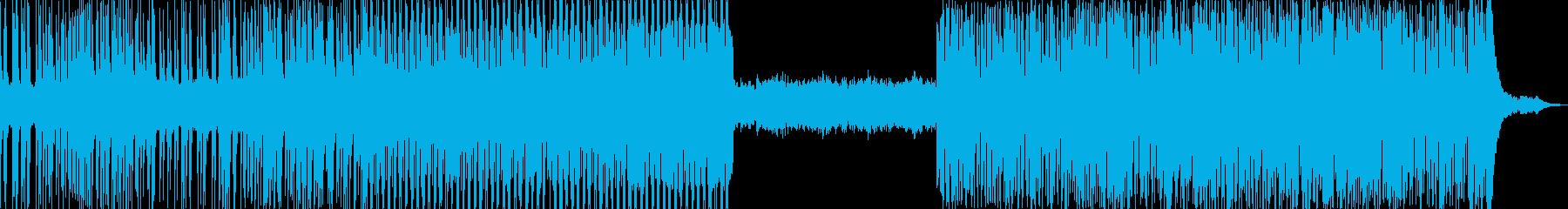 不穏で不気味、ダークなエレクトロの再生済みの波形