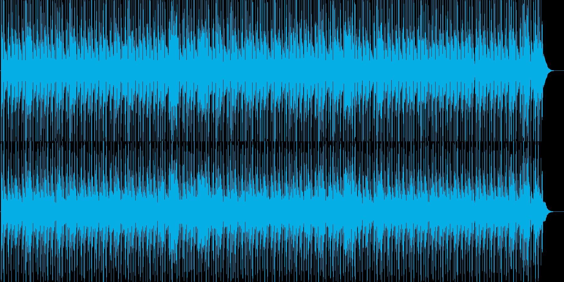 爽快なかっこいいR&BビートBGMの再生済みの波形
