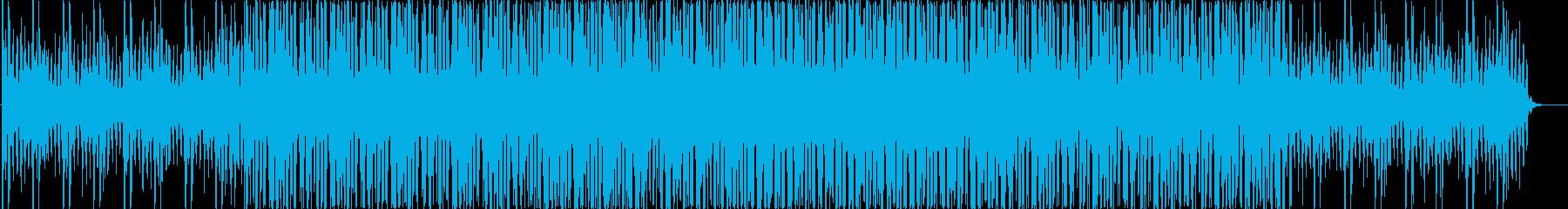 シンプルでクールなドラムンベースの再生済みの波形