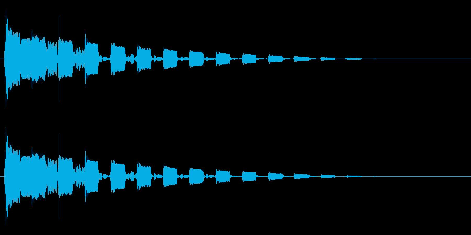 ひゅるるるの再生済みの波形