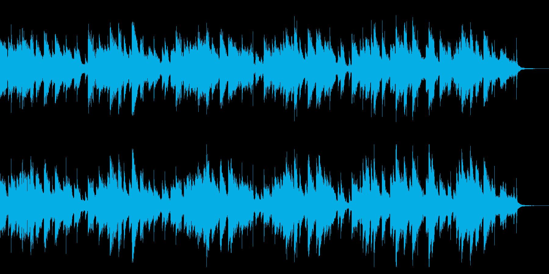 そよ風が歌うようなピアノ曲(1回)の再生済みの波形