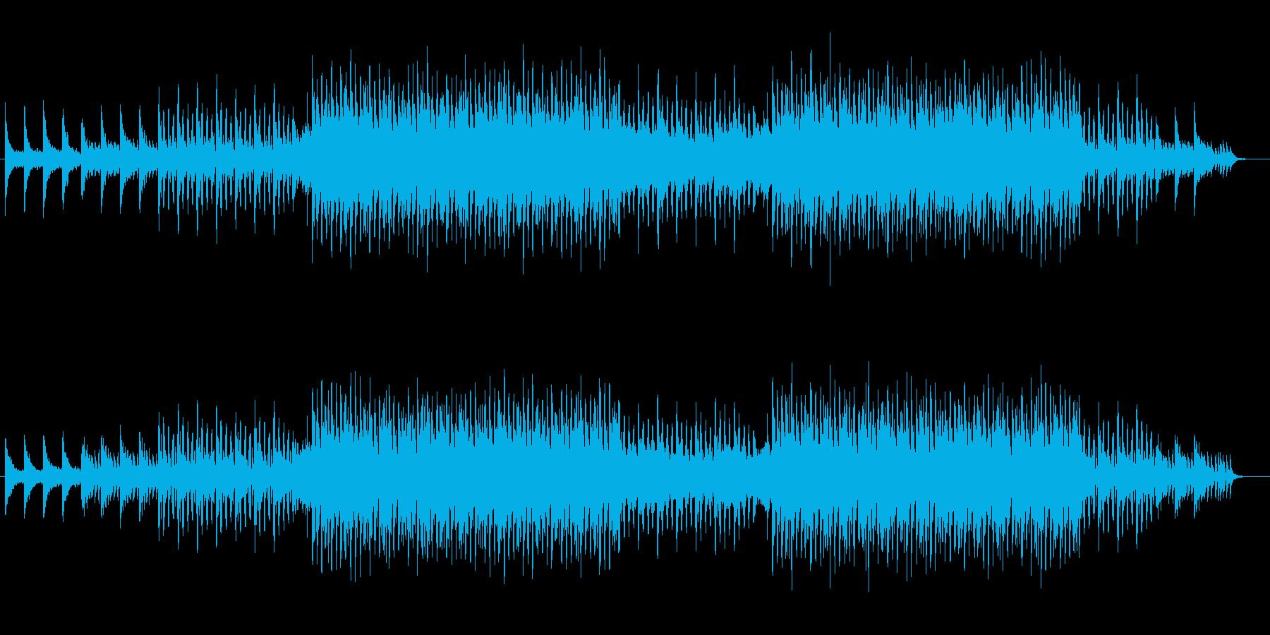 ピアノとクワイヤのハウスミュージック!の再生済みの波形