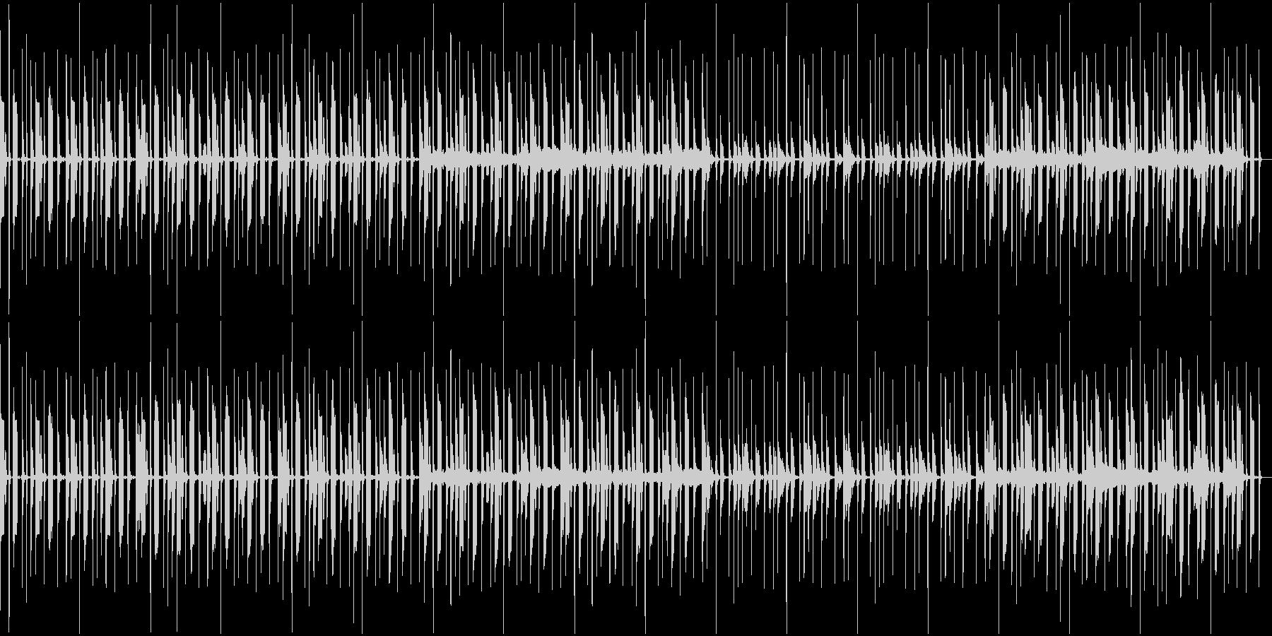 かわいい感じのポップス(ループ用)の未再生の波形