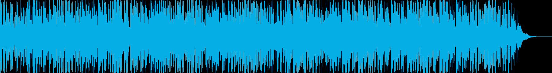 ダークなムード、ファンタジー系サウンドの再生済みの波形