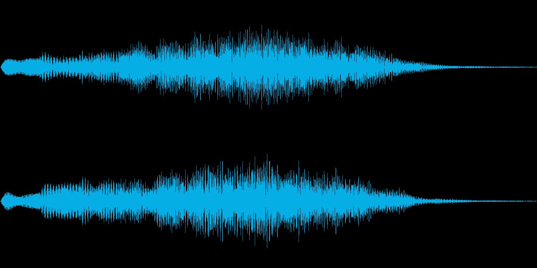 ジングル101aの再生済みの波形