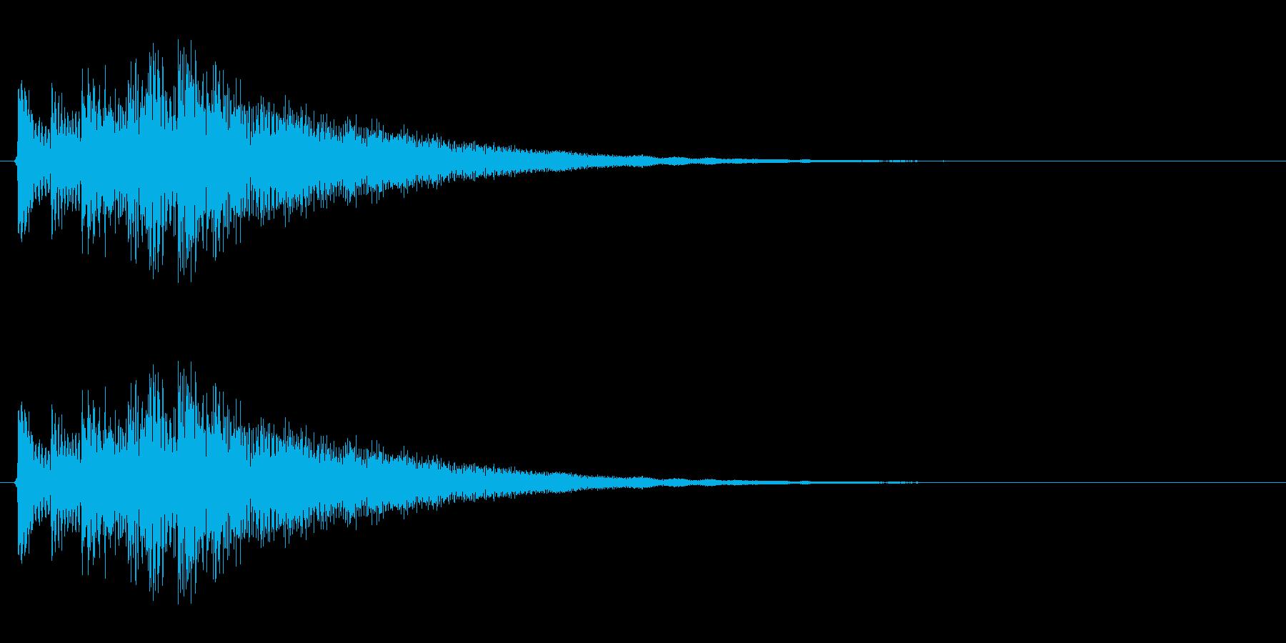 キラリン↑(かわいい、メルヘン、絵本)の再生済みの波形
