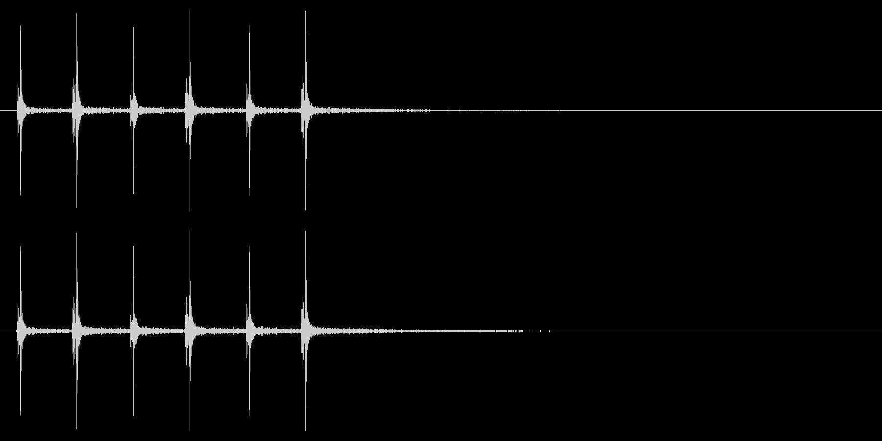 【ハサミ01-6】の未再生の波形