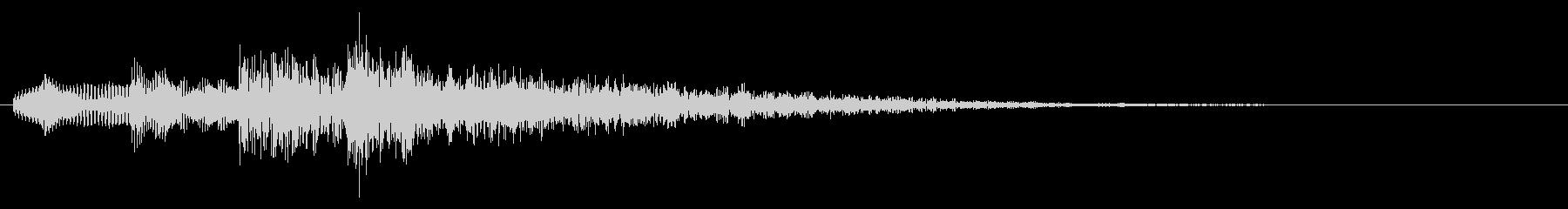 決定音/ボタン音/選択音/正解音 12の未再生の波形