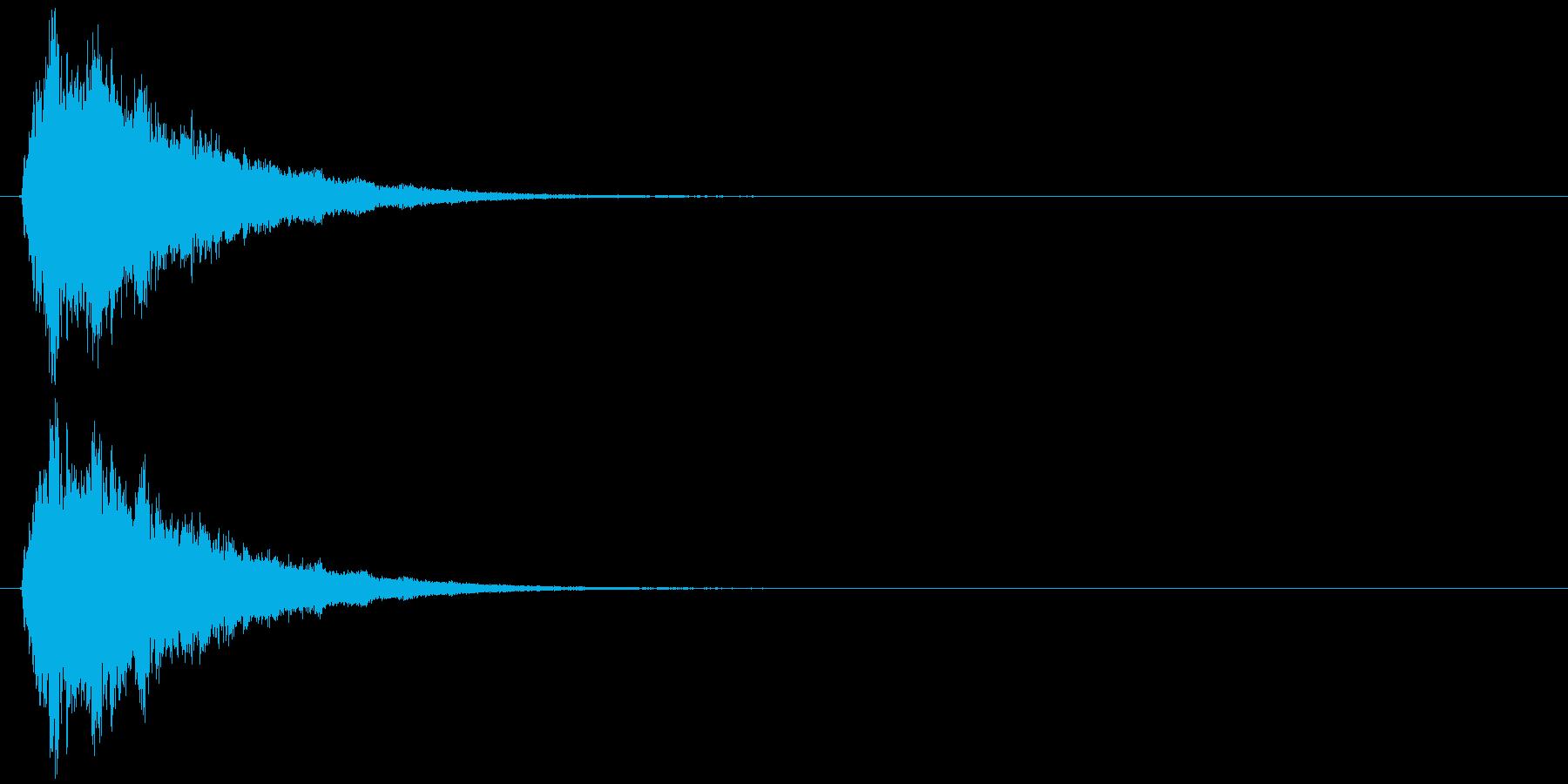 キラっ!(アイテム取得、星、キラキラ)の再生済みの波形