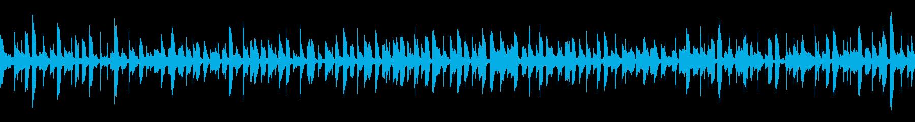 クラブループ: 鍵盤のジャジーで大人な曲の再生済みの波形