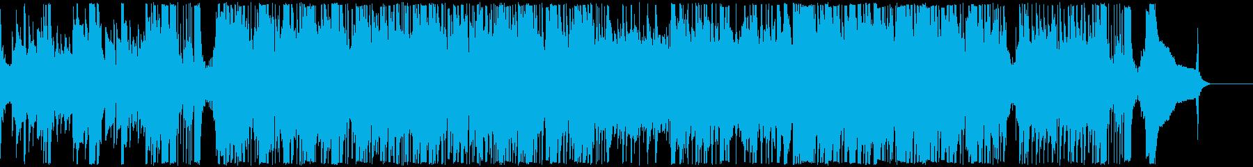 迷宮をイメージした曲の再生済みの波形