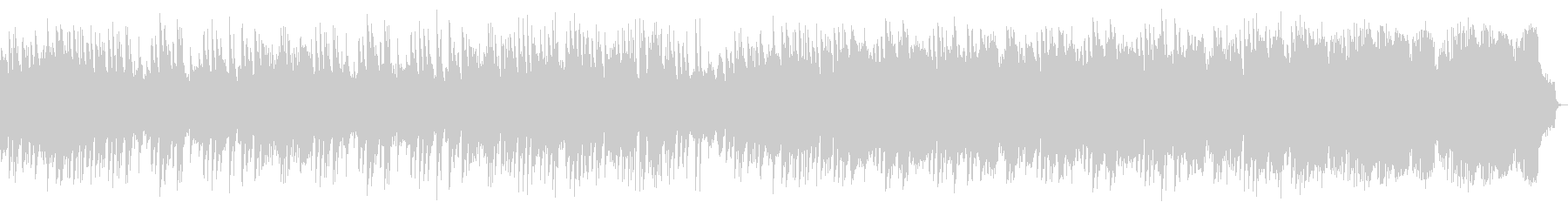 ピアノ中心の哀愁感あるメロディアスワルツの未再生の波形