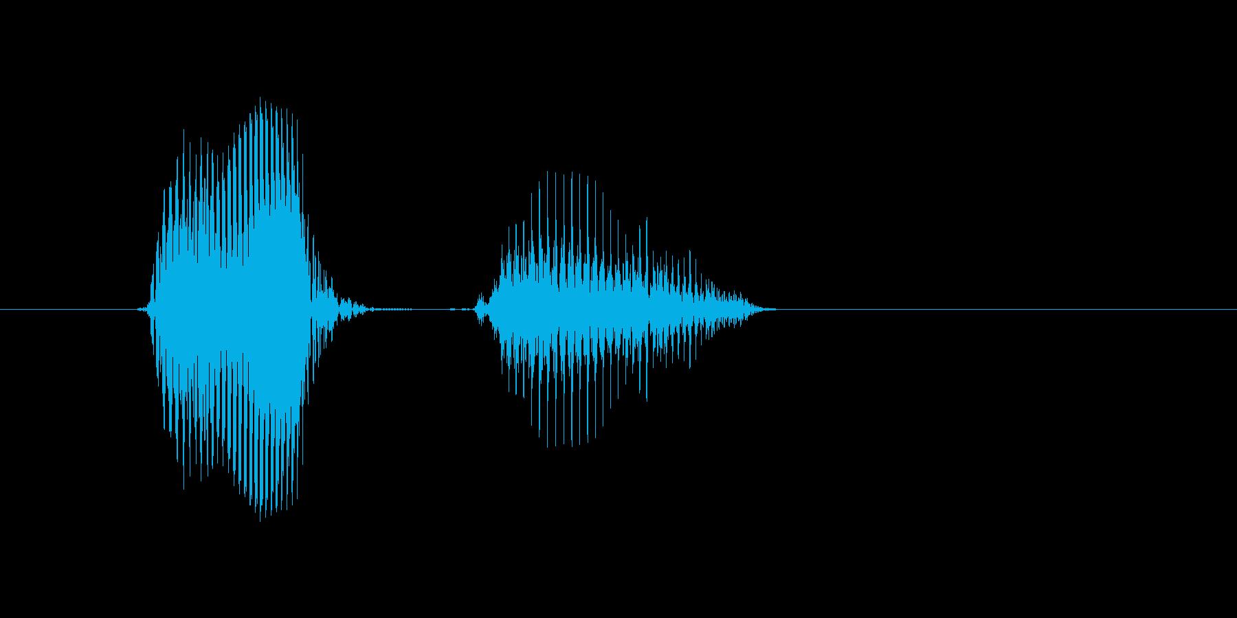 OK?(OK・オッケー・オーケイ)の再生済みの波形