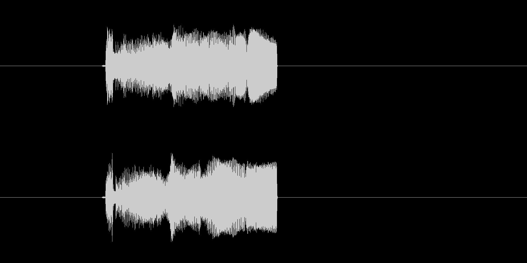 宇宙や近未来感のある音(通信、マシーン)の未再生の波形