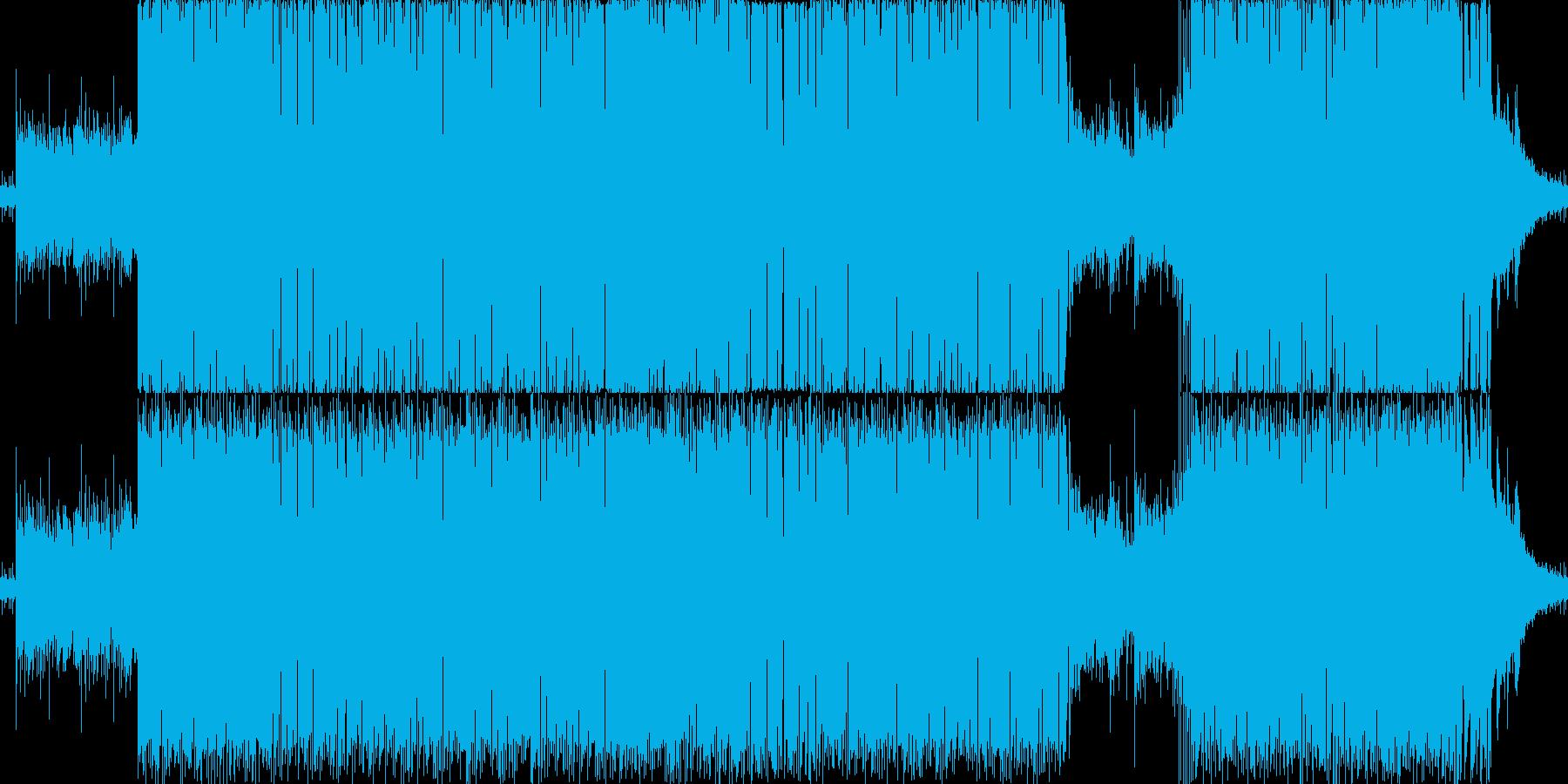 ジャジーヒップホップ風の再生済みの波形