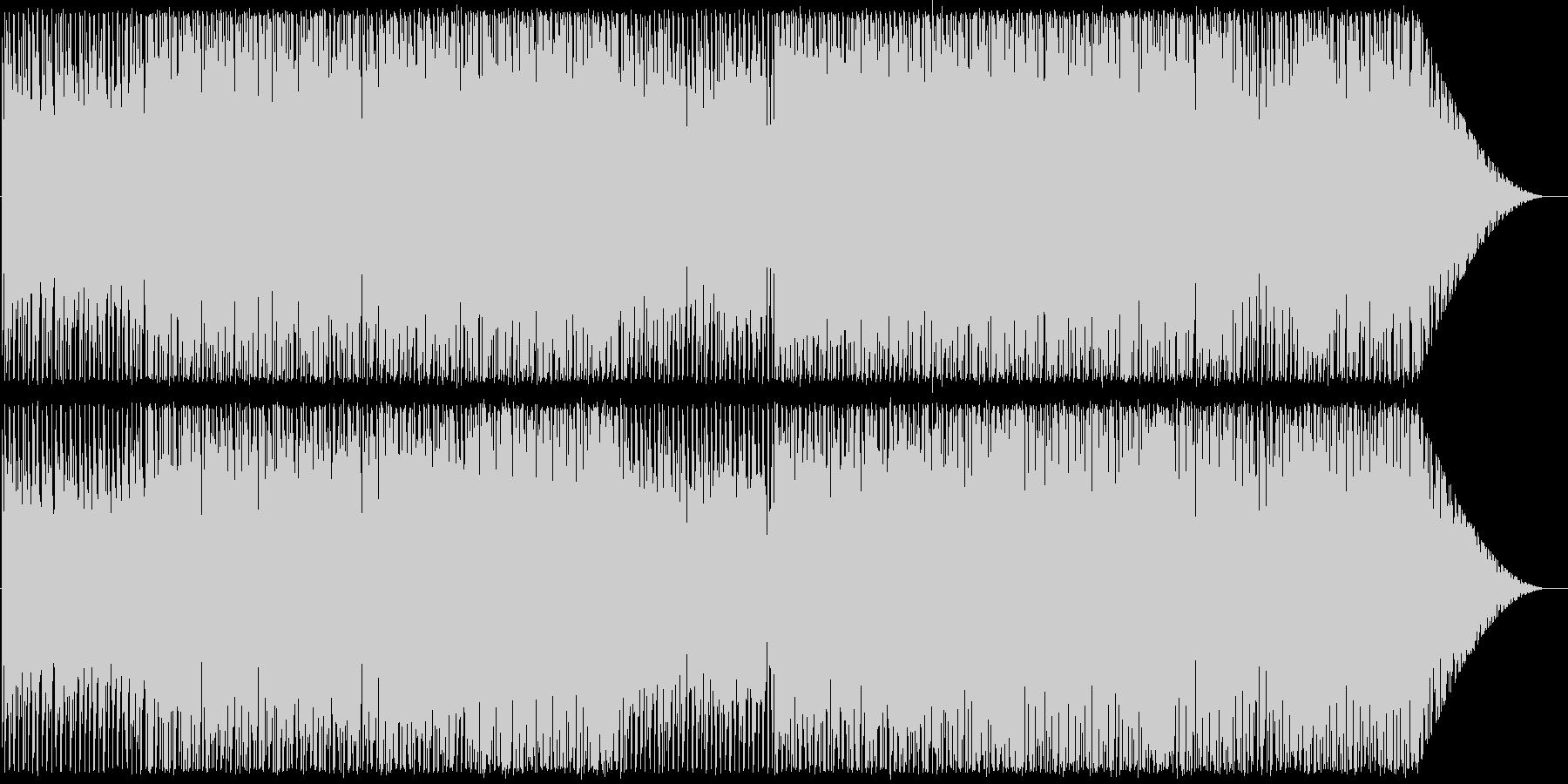 沖縄の海をイメージした曲の未再生の波形