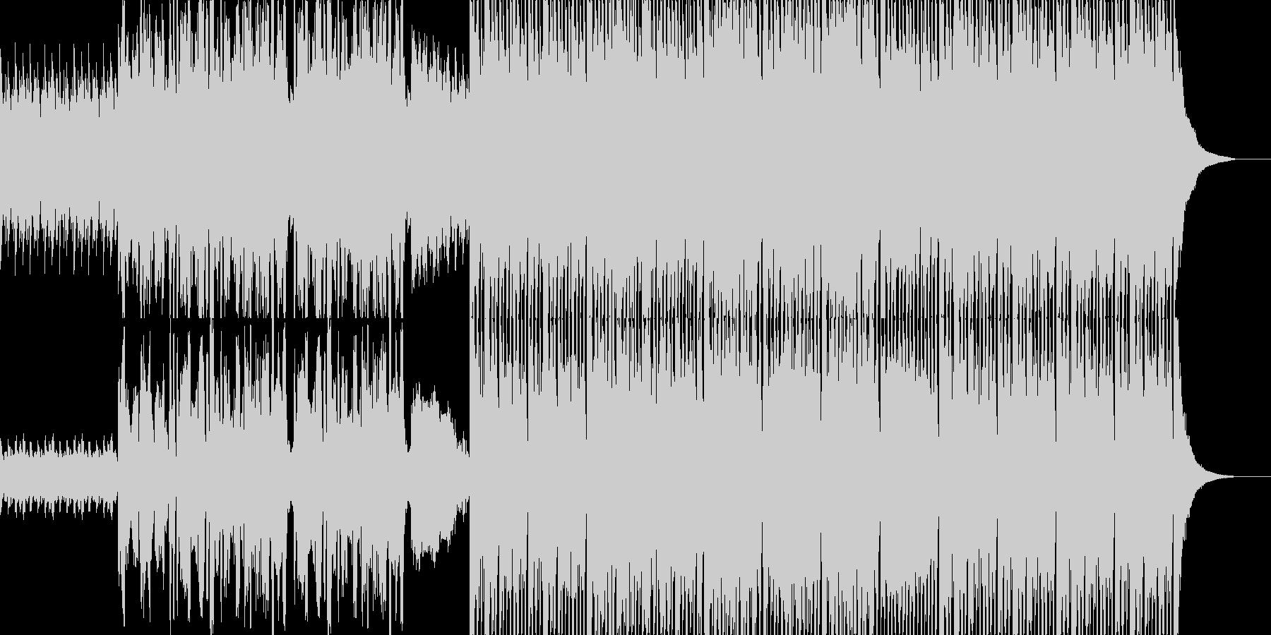 ノリノリになるカントリーミュージックの未再生の波形