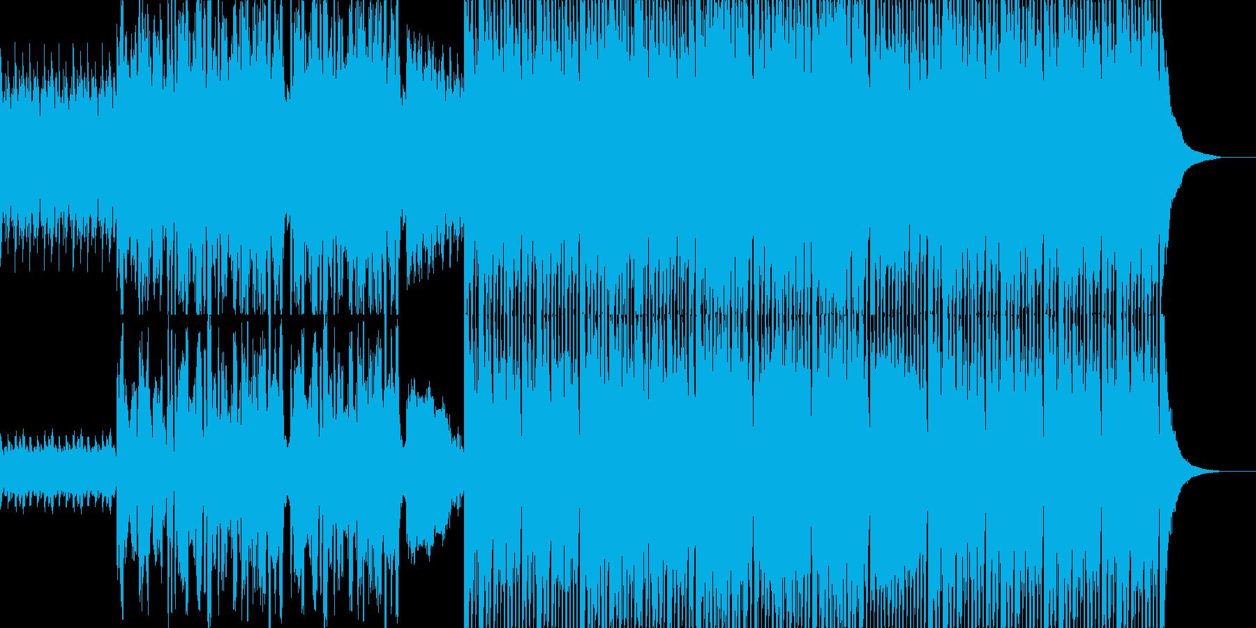 ノリノリになるカントリーミュージックの再生済みの波形
