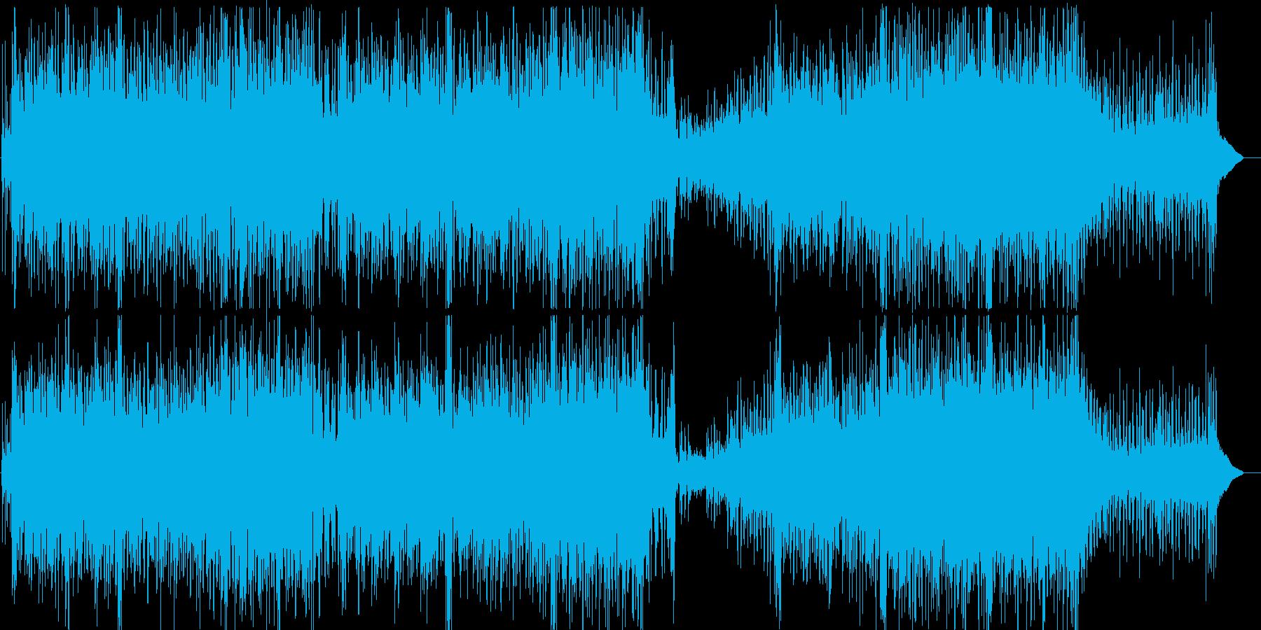 軽快 情報 ショッピング CM PRの再生済みの波形