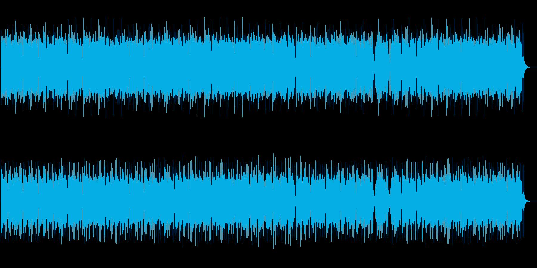 夜のムード漂うEDMサウンドの再生済みの波形