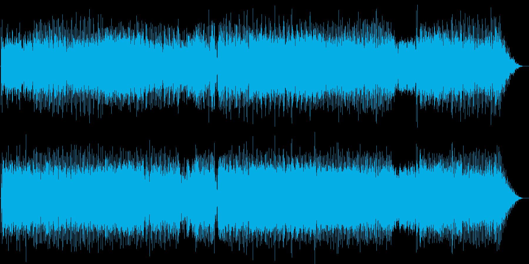 サーファー達の恋の歌の再生済みの波形