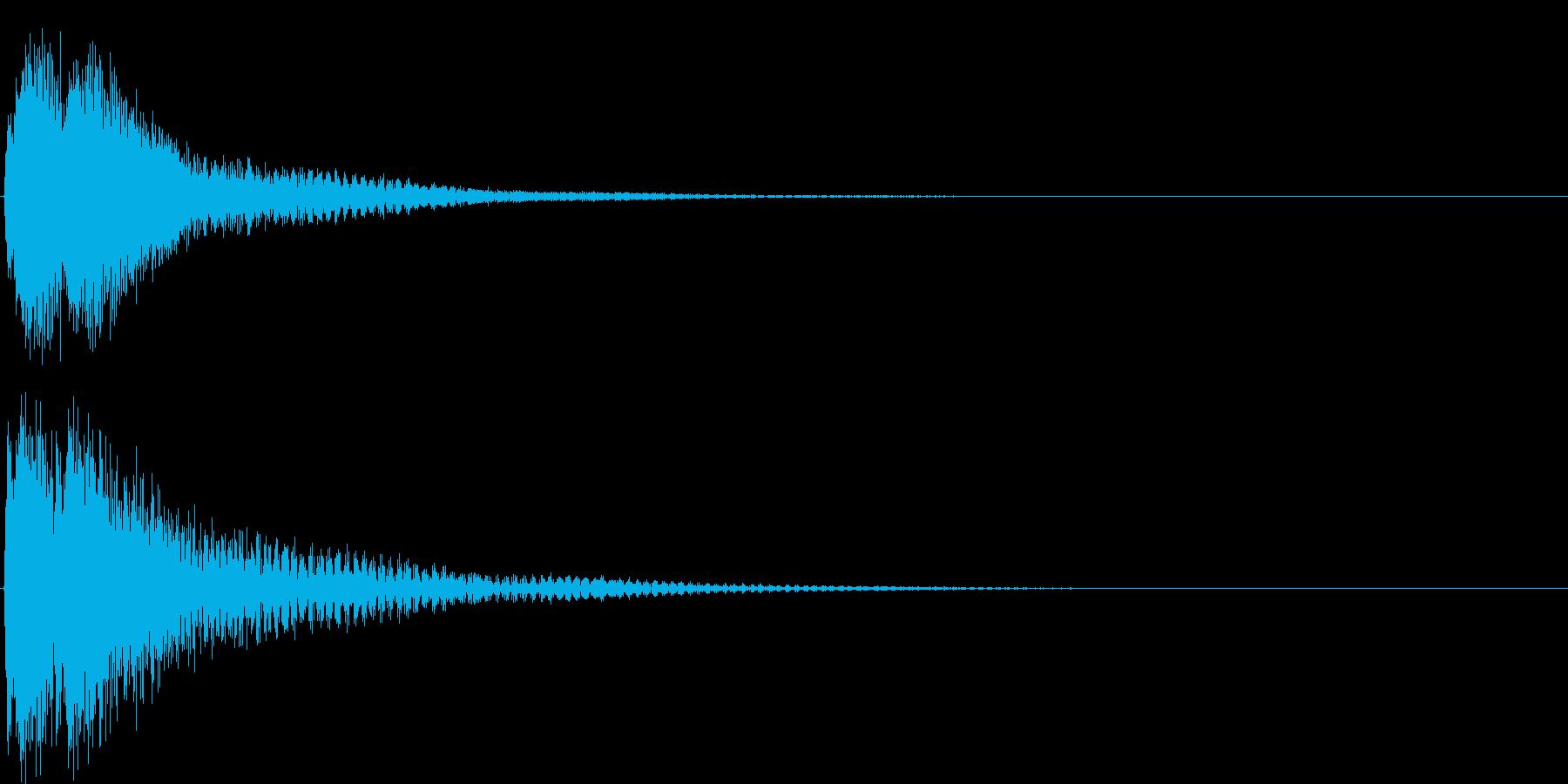 ジャジャン。クイズ出題・発表(高)の再生済みの波形