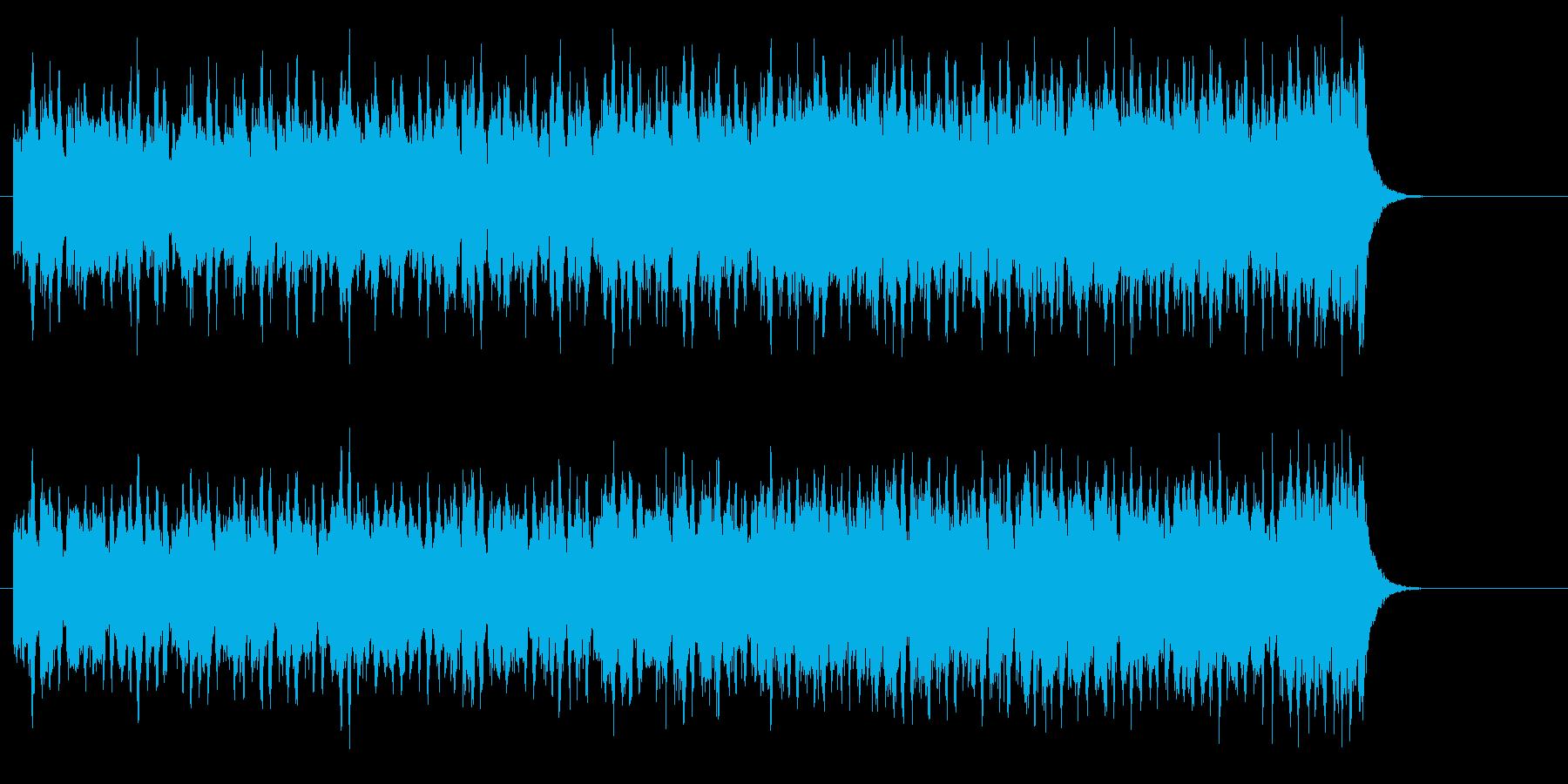 こどものメルヘンなセミクラ可愛いワルツの再生済みの波形