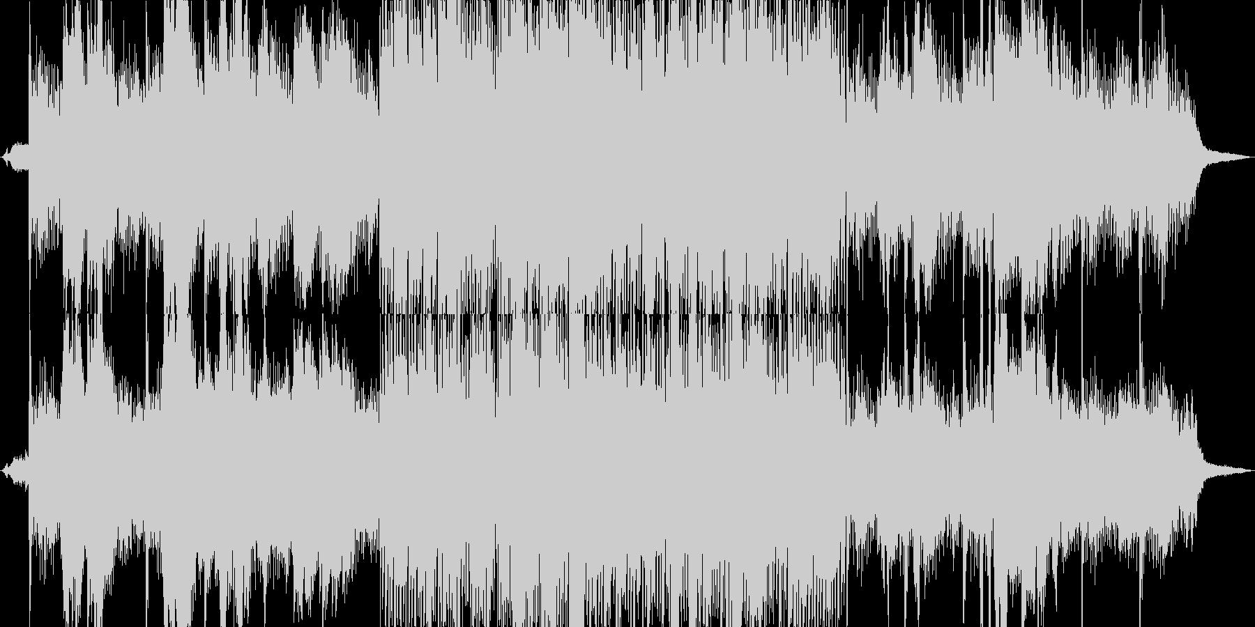 透明感のあるヒーリング+川のせせらぎの未再生の波形