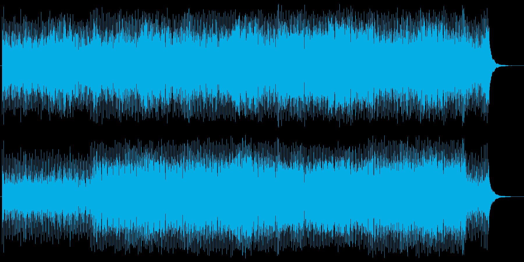 ほのぼのご機嫌なアコースティックポップの再生済みの波形