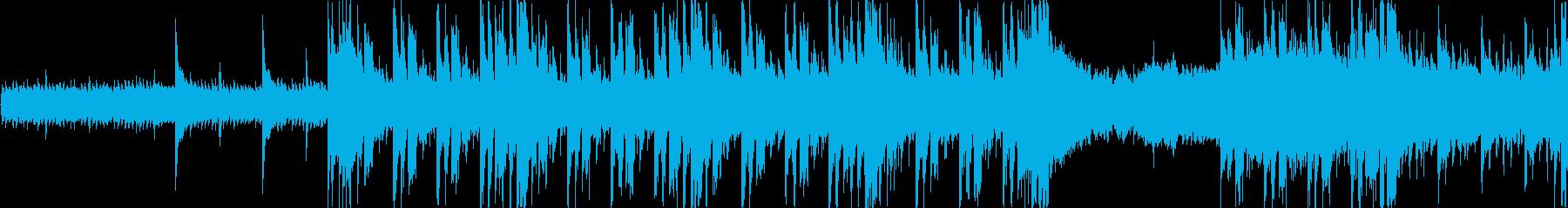 和風ループ音源【-12dBFS】の再生済みの波形