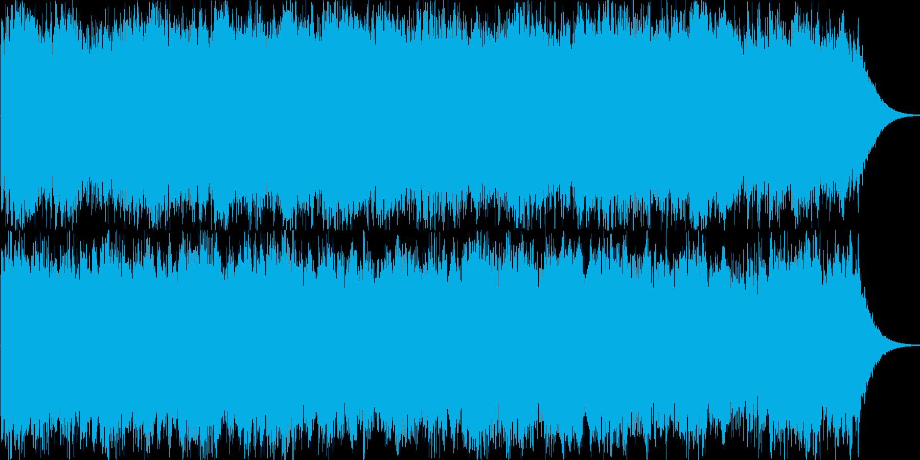 幻想的なブラスアンサンブルの再生済みの波形