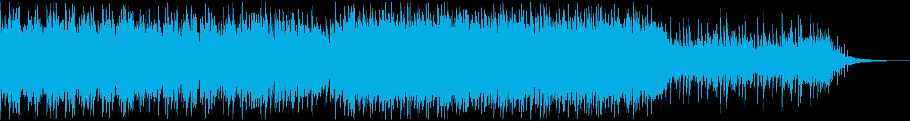 アコースティックピアノ&ギター 伴奏風曲の再生済みの波形