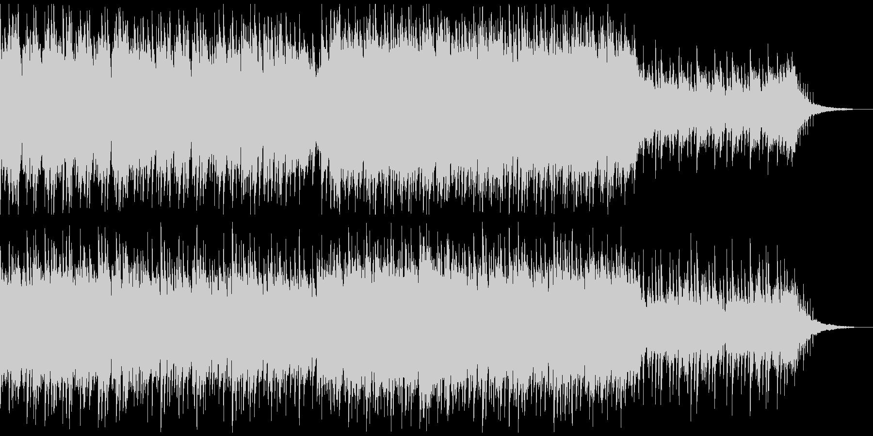 アコースティックピアノ&ギター 伴奏風曲の未再生の波形