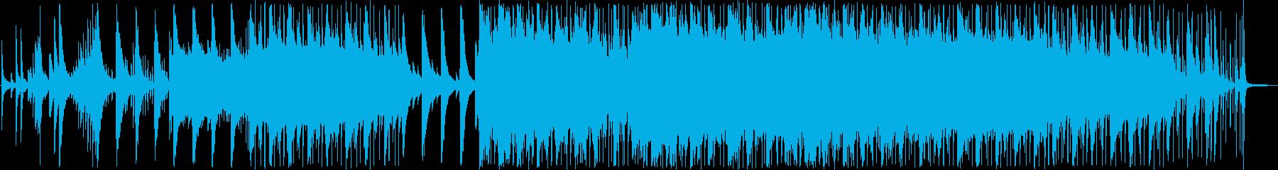 ピアノをメインに、オルガン、ストリング…の再生済みの波形